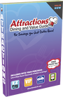 Attractions coupon book cover